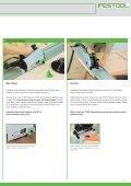 Ponorná pila TS 55 - PK Festool - Page 5