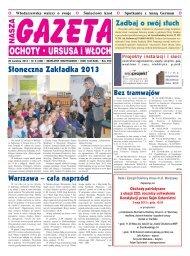 Słoneczna Zakładka 2013 - awigazety.waw.pl
