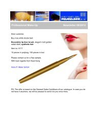 Professional Make-Up Reversible Lip Liner Brush - Newsletter 08/2012