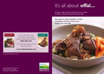it's all about offal... - Simply Beef and Lamb