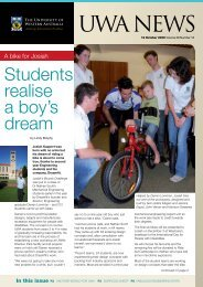 Issue 16. 19 October 2009.pdf - UWA Staff - The University of ...
