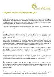Allgemeine Geschäftsbedingungen - Urlauber-Tipp.de