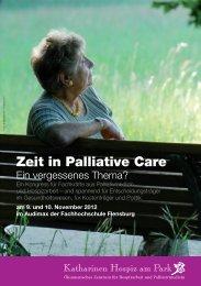 036-12-002 KK ProgrammRZ.indd - Fachwissen Palliative Care