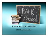 here - Palisades School District