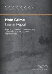 NUS Hate Crime Interim Report - National Union of Students
