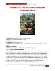 Production Notes PDF - Visual Hollywood