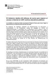 El Gobierno destina 48 millones de euros para mejorar el acceso a ...