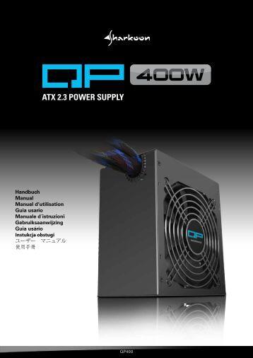 ATX 2.3 POWER SUPPLY - Sharkoon