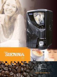Download Sienna Brochure.pdf - Pioneer Vending