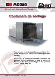 Le Container EBERL - Eberl Trocknungsanlagen Gmbh