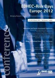 EDHEC-Risk Days Europe 2012