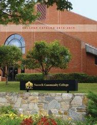 Catalog 2011-2013 - Norwalk Community College - Connecticut ...