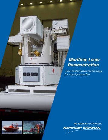 Maritime Laser Demonstration - Northrop Grumman Corporation