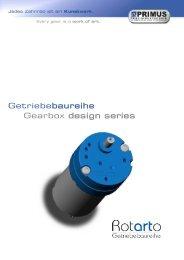 Gearbox design series Getriebebaureihe - DJ Stork Drives AB