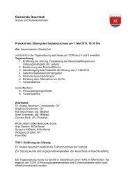 Protokoll Sozialausschuss 2009-07-13 - Gemeinde Quarnbek