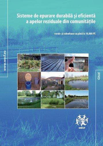 Sisteme de epurare durabilă şi eficientă a apelor reziduale ... - WECF