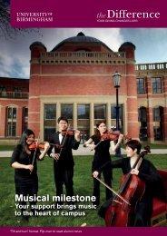 The Difference 2012.pdf - University of Birmingham