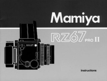RZ67 PRO II - Mamiya