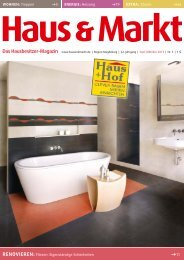 Magdeburg Ausgabe September/Oktober 2013 - Haus & Markt