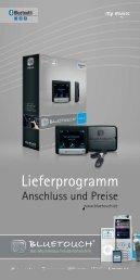 Lieferprogramm - BlueTouch
