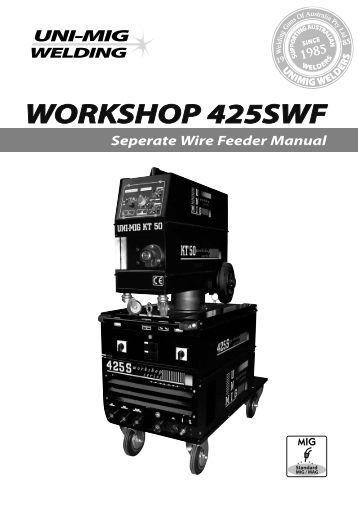 unimig 250 workshop series manual