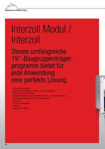 Interzoll Modul / Interzoll - Bopla
