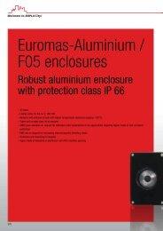Euromas-Aluminium / F05 enclosures - Bopla