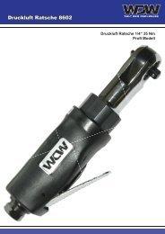 Druckluft Ratsche 8602 - Welt-der-Werkzeuge