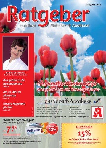 Liebe Kundinnen und Kunden, Ihre Apothekerin Bettina De Schrijver