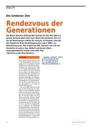Brass CH Die Goldenen 20er Rendezvous der G enerationen