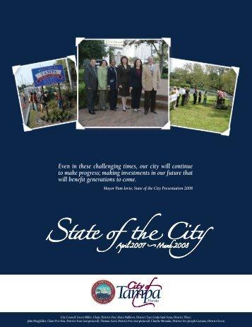 Progress Report - City of Tampa