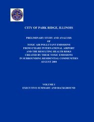 Preliminary Study and Analysis of Toxic Air Pollutant Emissions from ...