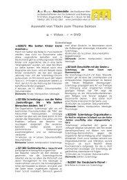 Auswahl von Titeln zum Thema Sekten = Video ... - AV-Medienstelle
