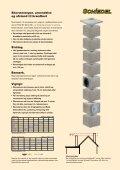 Monteringsanvisning på enkelt modulskorstene - Page 3
