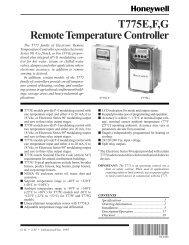 63-2490 - T775E, F, G Remote Temperature Controller - Bryan Boilers