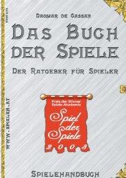 Spielehandbuch 2003 - Österreichisches Spiele Museum