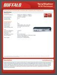 Rack Mountable iSCSI Storage System - Buffalo - Page 2