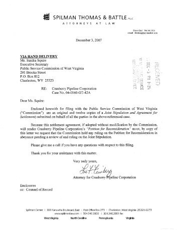 Joint Stipulation and Agreement for Settlement - Consumer ...