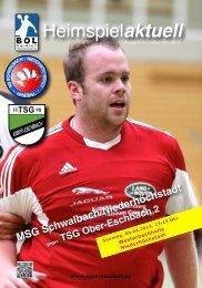 Heimspielaktuell #14  >>  MSG - TSG Ober-Eschbach 2
