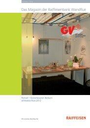 Kundenmagazin 01 2013 - Raiffeisen