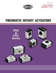PNEUMATIC ROTARY ACTUATORS - Fabco-Air, Inc.