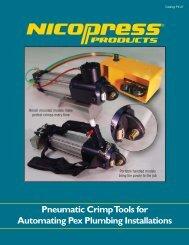 Pneumatic Crimp Tools for Automating Pex ... - Fabco-Air, Inc.