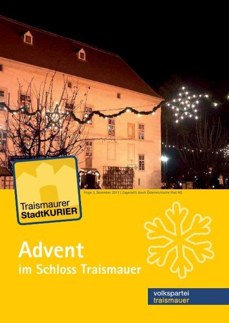 Advent - Traismauer - Volkspartei Niederösterreich