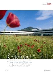 Österreich* - ABA - Invest in Austria
