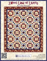 Sweet Land of Liberty Quilt - Henry Glass & Co