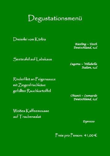 SPEISEKARTE - avmediafactory