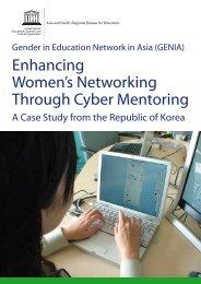 Enhancing Women's Networking Through Cyber Mentoring