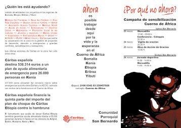 Cuerno de África - Caritas Diocesana de Sevilla
