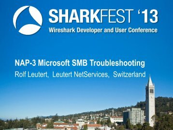 (SMB) Protokoll - Sharkfest - Wireshark