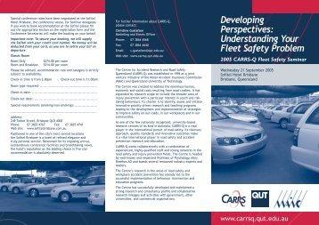 Developing Perspectives: Understanding Your Fleet Safety Problem